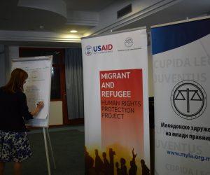 Правна заштита на жртвите на трговија со луѓе